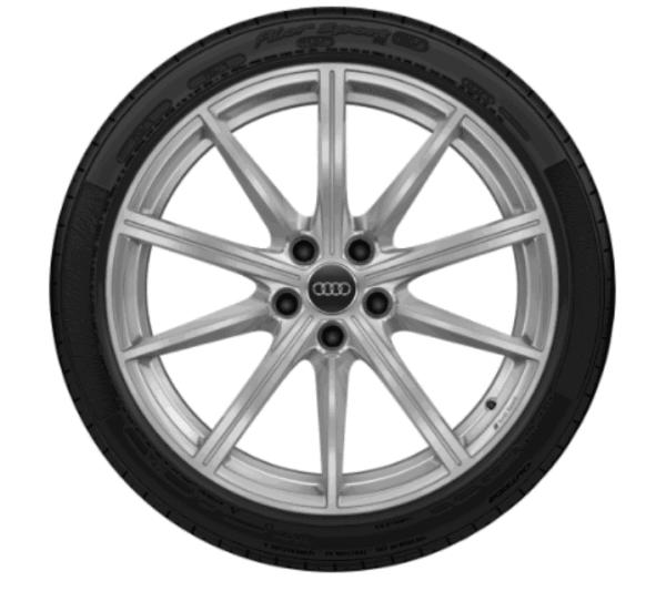 Audi Winterkomplettrad 10 Speichen Stern Design Pirelli Winter Sottozero 2
