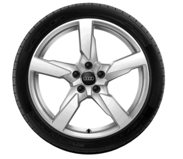 Audi Winterkomplettrad 5 Arm Polygon Design Pirelli Winter Sottozero 3