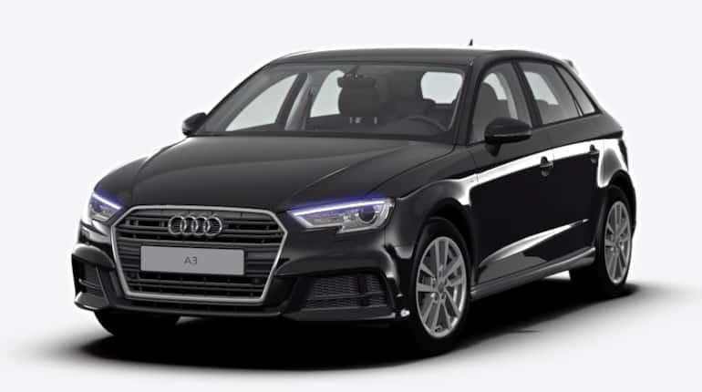 Autohaus Halstenberg - Audi A3 Sportback 1.5 TFSI Stronic schwarz