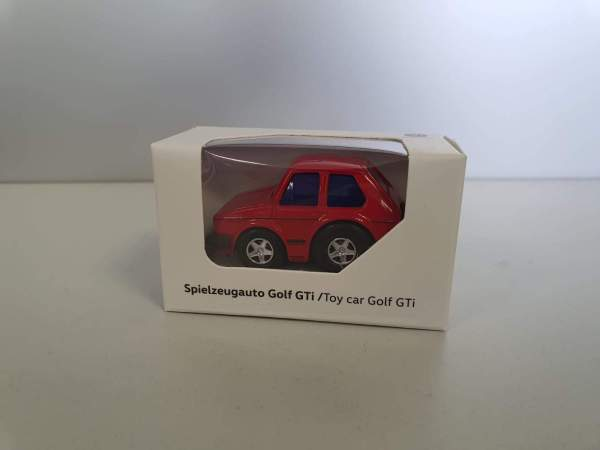 Autohaus Halstenberg Spielzeugauto Golf GTI rot