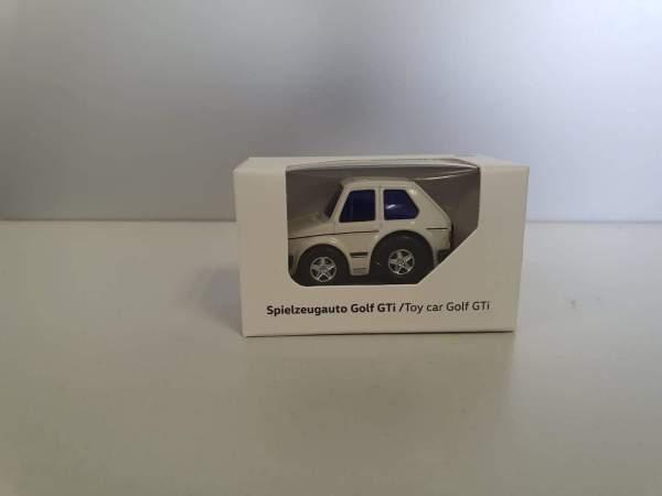 Autohaus Halstenberg Spielzeugauto Golg GTI weiß
