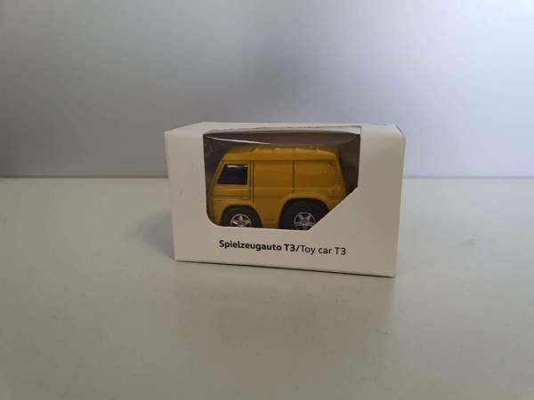 Autohaus Halstenberg Spielzeugauto T3 gelb