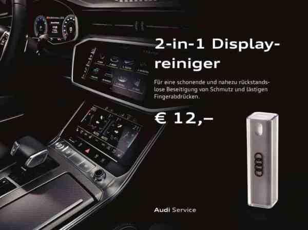 Autohaus Halstenberg 2 in1 Display Reiniger