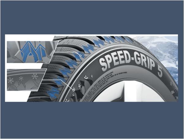 Semperit Speed Grip 5 Winterreifen VW Original